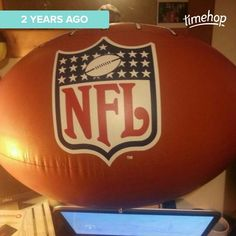 #inflatables #football #American #Americanfootball #NFL nelly