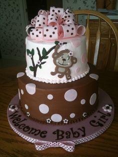 monkey theme baby shower cake - Bing Images