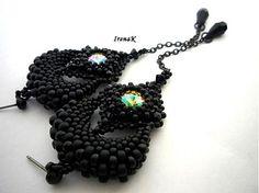 Black swans by IrenaK - SAShE.sk - Handmade Náušnice