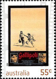 Sello: Gallipoli (Australia) (Films) Mi:AU 3125,Sn:AU 3001,Yt:AU 2999,Sg:AU 3105