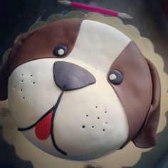 dog face cake - Google Search