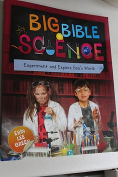 delivering grace: Big Bible Science-a review Homeschool Books, Homeschool Curriculum, Bible Science, Christian Magazines, Bible Study For Kids, Home Schooling, Knowing God, Christian Life, Current Events