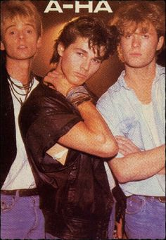 AHA - Viva la musica de los 80 - I was so in love with Morten! Music Pics, 80s Music, Good Music, Kinds Of Music, Music Is Life, Aha Band, 80s Pop, Best Rock, Musical