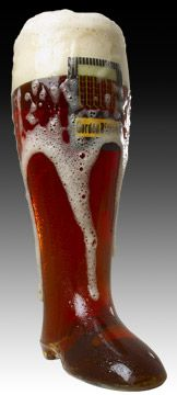 I'm not a big beer drinker but I love the local Gordon Biersch in DTPA. It's the original Gordon Biersch and they sell these boot glasses which I think are pretty cool.