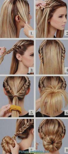 22 besten Frisuren zum Dirndl Bilder auf Pinterest in 22 | Make ...