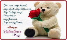 Happy Valentine Day SMS Message for Girlfriend Happy Valentines Day Sms, Cute Valentines Day Quotes, Happy Birthday Wishes Images, Happy Birthday Fun, Birthday Cards, Valentine's Day Quotes, Cute Quotes, Message For Girlfriend, Girlfriend Quotes
