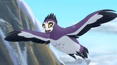 Here is a shot of Anga from The Lion Guard. The Lion Guard