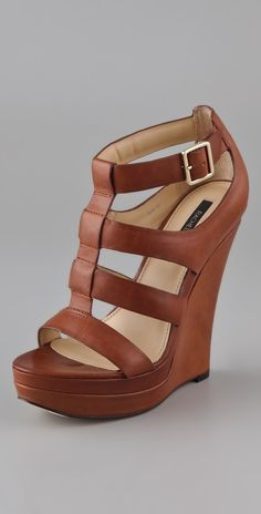 797db539320 Rachel Zoe Kelsey Platform Wedge Sandals