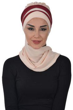 Ready ,Ready Turban,Headwrap,Ready To Wear - hijab etsy - Hijab Bridal Hijab, Abaya Fashion, Head Wraps, Ready To Wear, Chiffon, Trending Outfits, How To Wear, Etsy, Vintage