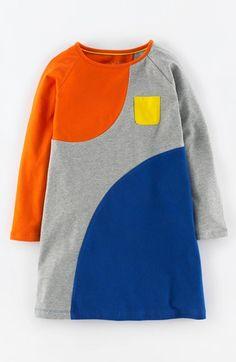 Mini Boden 'Fun Spot' Jersey Dress (Toddler Girls, Little Girls & Big Girls)…