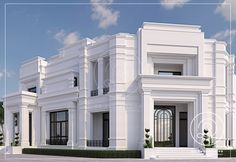 This Askon Medesain is a top recommended Design Ideas for Layout Design in Singapore. We offer best ideas to remodel, build and design architecture latest Classic House Exterior, Classic House Design, Simple House Design, House Front Design, Dream House Exterior, Modern House Design, Fachada Colonial, Bungalow, House Elevation