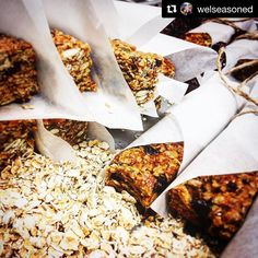 Chef Ric's team is at it again! This time cooking up some delicious oat bars using our Just Plain Good flavor.  We tried them and they were delicious. . . . #madhectic #oats #protein #goodmorning #proats #oatbars #breakfast #healthy #foodstagram #instafood #yummy #natural #seeds #nuts #oatmealbar #oatmeal