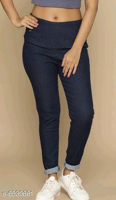 Jeggings Stylish Women's Jeggings Fabric: Denim Multipack: 1 Sizes:  34 (Waist Size: 34 in Length Size: 39 in)  36 (Waist Size: 36 in Length Size: 39 in)  38 (Waist Size: 38 in Length Size: 39 in)  28 (Waist Size: 28 in Length Size: 39 in)  40 (Waist Size: 40 in Length Size: 39 in)  30 (Waist Size: 30 in Length Size: 39 in)  32 (Waist Size: 32 in Length Size: 39 in) Country of Origin: India Sizes Available: 28, 30, 32, 34, 36, 38, 40   Catalog Rating: ★4 (239)  Catalog Name: Free Mask Elegant Feminine Women Jeggings CatalogID_1041860 C79-SC1033 Code: 335-6539661-5931