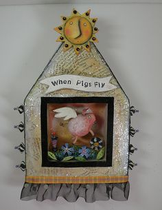 when pigs fly by juliehaymakerthompson, via Flickr