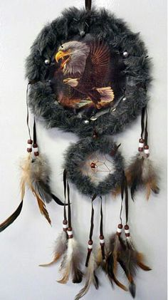Bald Eagle Mandala and Dream Catcher
