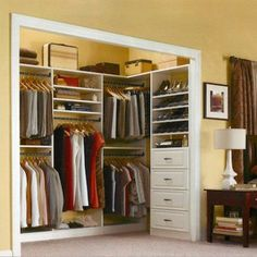 Charmant Incredible Small Walk In Closet Ideas U0026 Makeovers | Small Walk In #Closet  Ideas