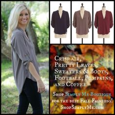 """LIKE"" & SHARE on Facebook to WIN one of our Best Selling ""Heart of Dixie"" tops!! https://www.facebook.com/ShopSimplyMe"