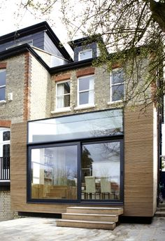 Extention in Finchley in north London/ Evonort Architects