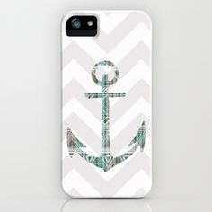 Tribal anchor and chevron. Great combo! #iphone #case #anchor #chevron