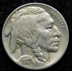 1937 5 Cents Uncirculated Fine United States Buffalo Nickel