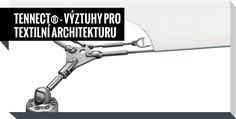 Carl Stahl TENNECT® - VÝZTUHY PRO TEXTILNÍ ARCHITEKTURU