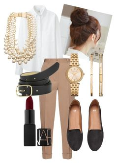 A fashion look from January 2016 featuring oxford shirt, tan pants and h&m shoes. Browse and shop related looks. Tan Pants, H&m Shoes, Fashion Looks, Women's Fashion, Paul Smith, Bottega Veneta, Uniqlo, Nars Cosmetics, Women's Clothing