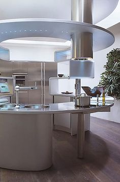 Delightful Highly Space Efficient And Sleek Kitchen Design.