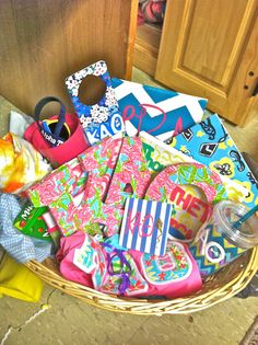 big/little week basket