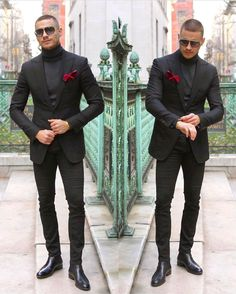 Classic Grey Men Suits for Business Formal Groom Tuxedo Slim Fit Terno Masculino Jacket Pants Male Blazer Terno Masculino Prom Outfits For Guys, Prom For Guys, All Black Outfits For Party, Black Outfit Men, All Black Suit, Mens Fashion Suits, Mens Suits, Grey Suits, Formal Suits