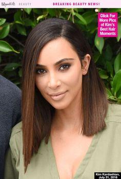 Kim Kardashian Reveals New Blunt Bob Is A Wig — World Gasps In Unison