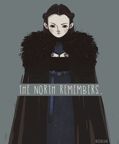 Bear Island knows no King but the King in the North whose name is Stark. #lyanna #lyannamormont #got #asongoficeandfire #asoiaf #mormont #bear #northremembers