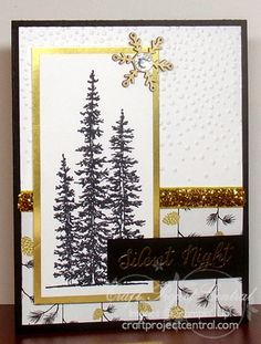 CraftProjectCentral.com » Blog Archive » Creating Pretty Cards – Card Challenge #52!