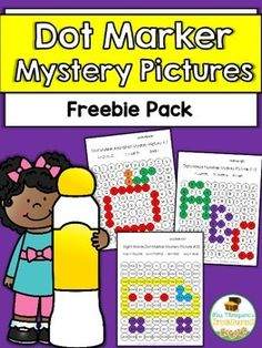 Free Alphabet Numbers & Sight Words Fun Mystery Picture Practice  Are you looking for a fun activity for your students to complete the first week of school? These dot marker pictures are perfect for helping little ones get excited about learning and staying engaged!  Students will use the key to color in circles and create the mystery picture! Regular markers or crayons can be used if you don't have the dot markers.  The free download can be found HERE and includes 3 different pictures to…