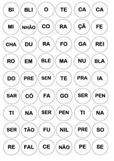 Caça Palavras com Materiais Recicláveis Speech Therapy, Teaching, Homeschooling, Portuguese, Letter B Activities, Reading Activities, Alphabet Words, Word Bingo