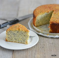 Citroen maanzaad cake. #glutenvrij #koemelkvrij #sojavrij #lactosevrij #pindavrij #fructosearm #tarwevrij