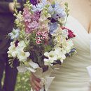 Wedding flowers and hand-tieds from Darling & Wild Florist, Kent & East Sussex #bridal flowers #summer flowers #rustic wedding