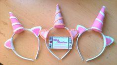 Unicorn headband, unicorn costume/dress up, made of felt or glitter fabric