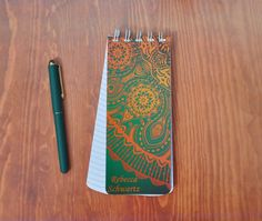 A personal favorite from my Etsy shop https://www.etsy.com/listing/274577048/spiral-bound-to-do-lists-note-pad