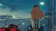 Ghibli discovered by ➽ShootingWings on We Heart It Hayao Miyazaki, Aesthetic Gif, Retro Aesthetic, Old Anime, Anime Art, Anime Kunst, Illustrations, Gifs, Japan
