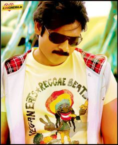 Pawan Kalyan Stylish Look With Goggles