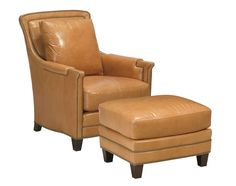 Redondo Chair (Leather) L-0601-1 - CHADDOCK COLLECTION - Our Styles - Chaddock - Morganton, NC Snug Room, Recliner, Armchair, Upholstery, Lounge, Study, Leather, Furniture, Collection