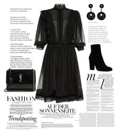 Designer Clothes, Shoes & Bags for Women All Black Outfit, White Outfits, Thigh Highs, Giorgio Armani, Yves Saint Laurent, Polyvore, Stuff To Buy, Shopping, Furniture