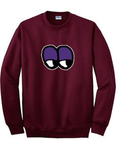 lazyoaf eyes sweatshirt