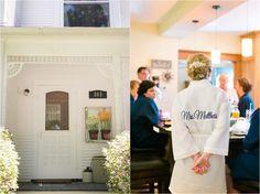 Bridal robes. Wisconsin Barn Wedding at Brighton Acres. photo by HeatherCookElliott.com