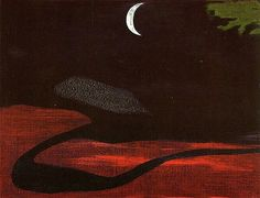 Crescent moon, Sanyu (1901 - 1966)