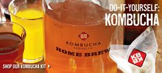 I am slightly ambivalent about Kombucha but it might be a nice replacement for alcohol.