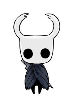 Hollow Knight Official Art—The Knight Creepy Drawings, Dark Art Drawings, Cartoon Drawings, Cartoon Art, Cute Drawings, Knight Drawing, Knight Art, Horror Drawing, Graffiti Drawing