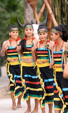 "hotstud69: ""indigenous khmer phnong women in traditional clothing """