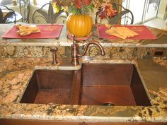 18 Best Kitchen Sink - Drop In images | Copper sinks, Copper kitchen Undermount Kitchen Sink With Copper on oven with copper, stainless steel appliances with copper, interior design with copper, stainless steel sink with copper,