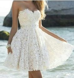 Cute Mini Sweetheart Lace Homecoming Dresses Cheap Short Summer Beach Custom Made Dresses for Short Special Occasion Dresses_Wedding Dresses Short Graduation Dresses, Simple Homecoming Dresses, Prom Dresses For Teens, A Line Prom Dresses, Formal Evening Dresses, Dance Dresses, Short Dresses, Mini Dresses, Cheap Dresses